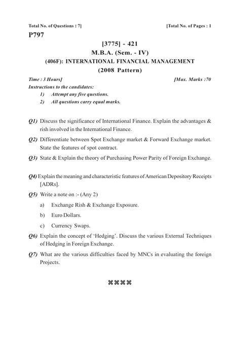 Mba Program Residency Explained by Mba April 2010 Sem 1 2 3 4