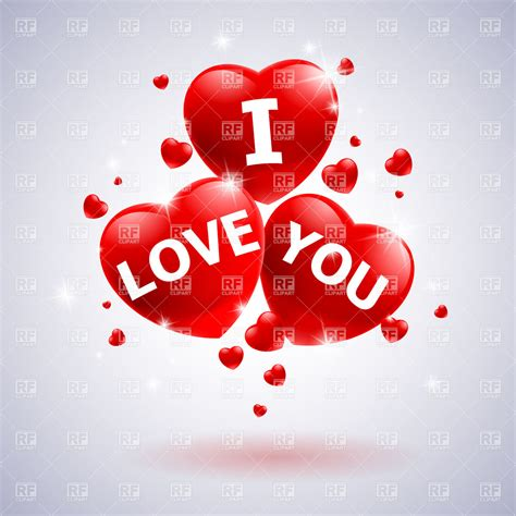 imagenes de i love you too inscription quot i love you quot on glossy heart icons royalty