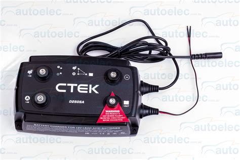 battery charger for agm 12 volt ctek d250sa dual dc to dc solar battery charger 12v 12