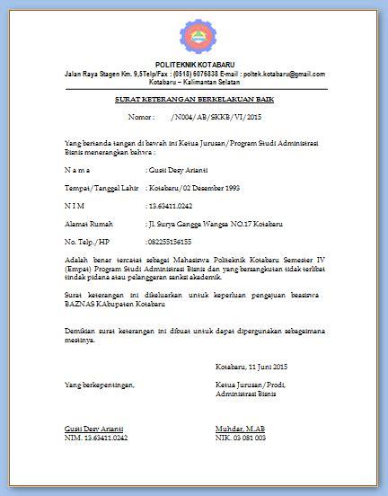 contoh surat kuasa tindak pidana wisata dan info sumbar