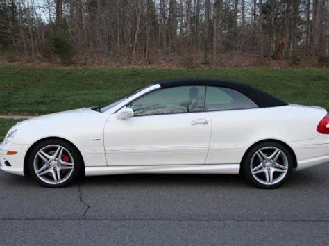 2009 Mercedes Clk350 by Mercedes 10 Used White Clk 350 Convertible Mercedes