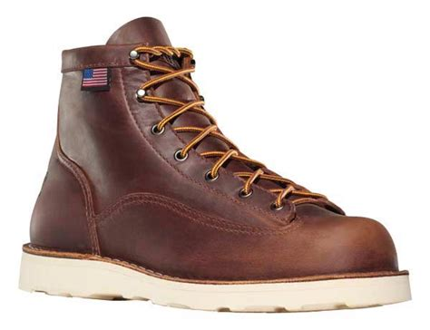 danner 6 inch boots danner 15554 bull run cristy 6 inch brown leather safet y