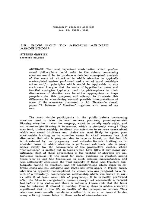 Abortion Summary Essay by Argumentative Essays For Abortion Writefiction581 Web