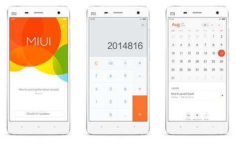 mi themes v6 miui 6 update rolling out to xiaomi mi 3 in india
