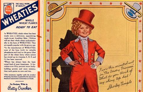 Mills Says Goodbye On by General Mills Says Goodbye To Shirley Temple
