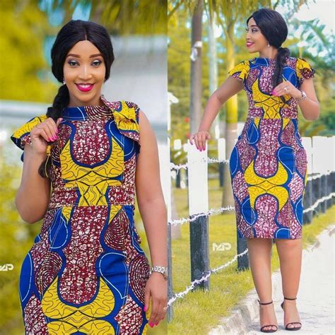 latex ankara style in nigeria old fashioned short gown styles for ankara model wedding