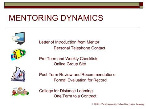 Mentor Evaluation Letter mentoring evaluation