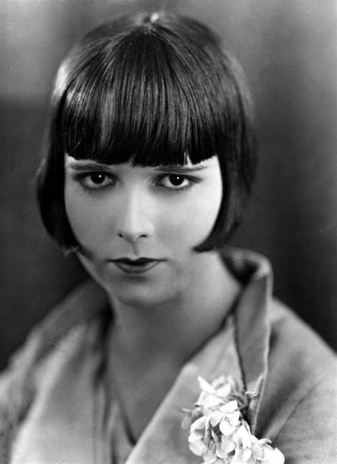 hairatyles for late twenties 1920 s hair makeup on pinterest 1920s louise brooks
