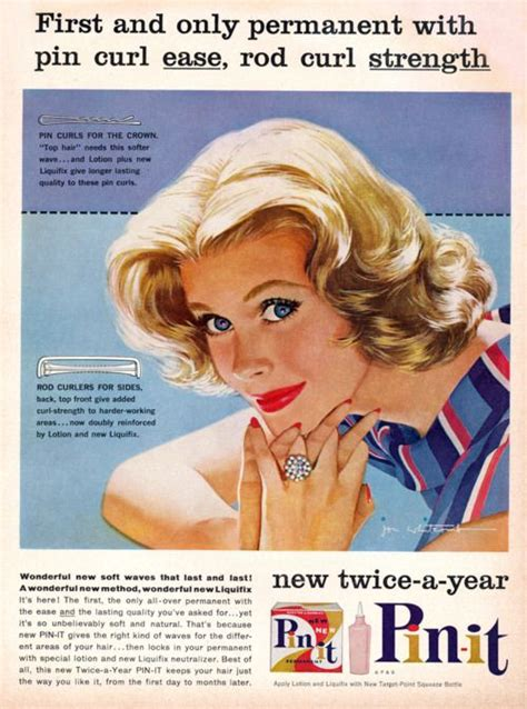 1950s perms 1000 images about vintage beauty ads on pinterest