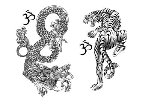 tiger and dragon by andoledius on deviantart