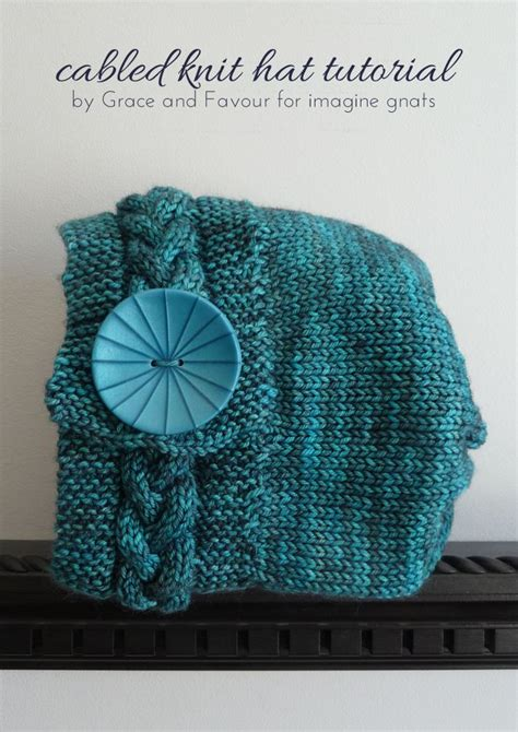 knit tutorial knitting cabled knit hat tutorial hat tutorial cable