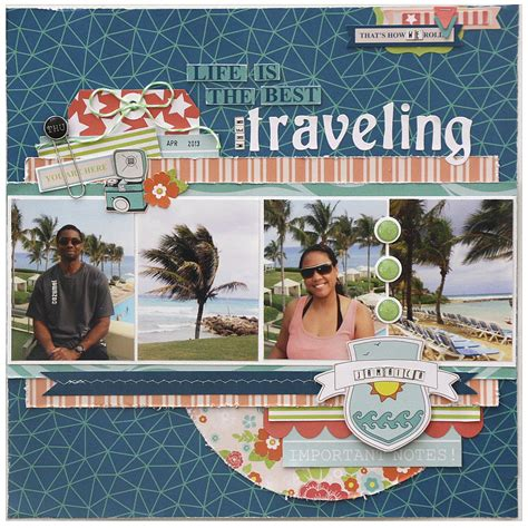 scrapbook layout travel gcd studios scrapbooking your travel photos