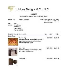 interior design invoice template interior design software client interaction