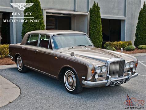 1969 bentley t series sedan