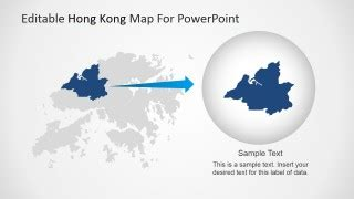 Editable Hong Kong Map For Powerpoint Slidemodel Hong Kong Powerpoint Template