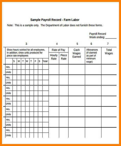 Employee Annual Leave Record Spreadsheet Editable Ms Excel 2018 2019 2020 Ford Cars Individual Payroll Record Template
