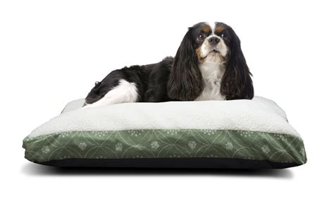 pillow pet bed furhaven pet nap deluxe pillow pet bed for dogs ebay
