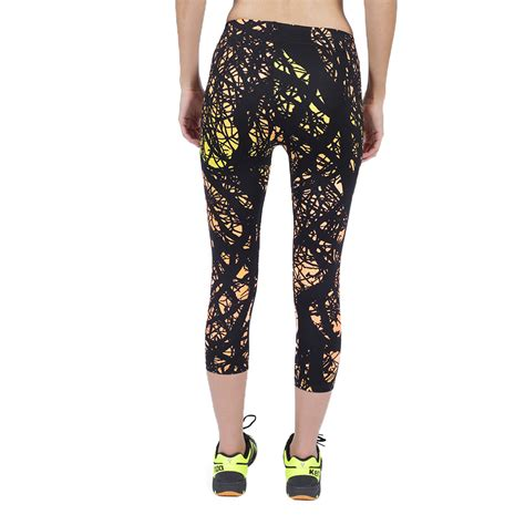 pattern gym tights black sports gym yoga 7 8 pants colorful pattern leggings