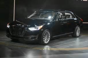 Hyundai Detroit 2017 Genesis G90 Launches Hyundai S New Luxury Brand In
