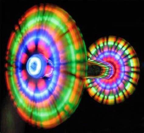 led orbit light show led handheld pinwheel orbit light show dancing windmill