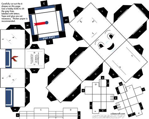 Ghostbusters Papercraft - ta a fim de enfeitar sua casa personagens cl 225 ssicos do