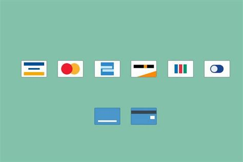icon design basics 27 free credit card icon sets for online web shops