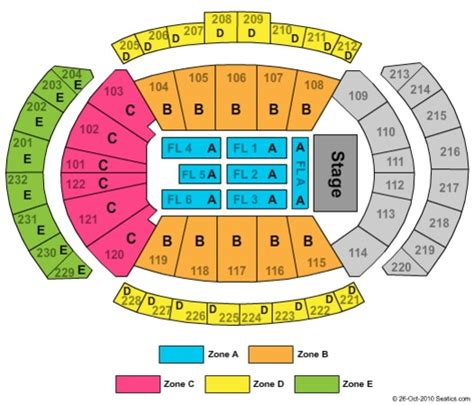 sprint center concert seating capacity sprint center tickets in kansas city missouri sprint