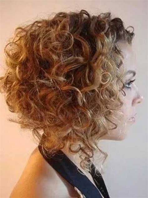 curly inverted bob hairstyle pictures gorgeous short curly hair ideas you must see short