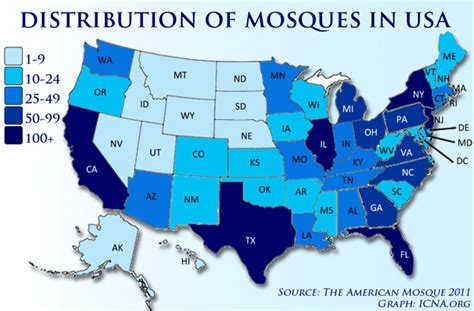 united states of islam map islamic terrorist network in the usa tmq2 the infidel