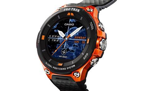 Casio Smartwatch Android casio wsd f20 el smartwatch para aventureros con gps y