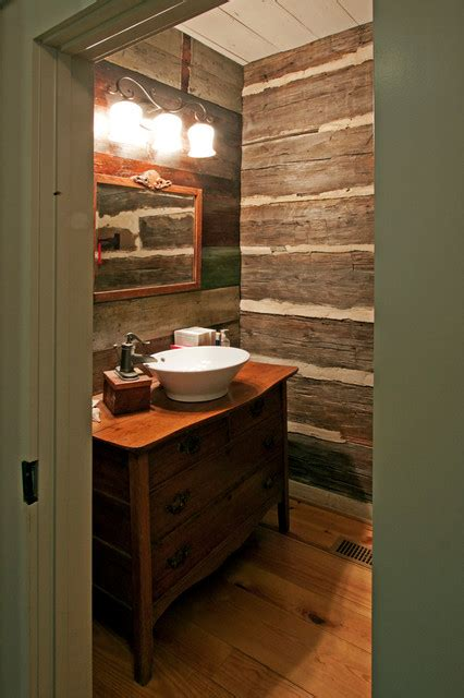 Cabin Bathroom Ideas by Log Cabin Bathroom Decor Bclskeystrokes