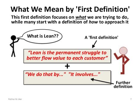 what is the meaning of what is lean about