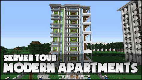 Medieval Floor Plans by Minecraft Modern Apartment Complex Youtube