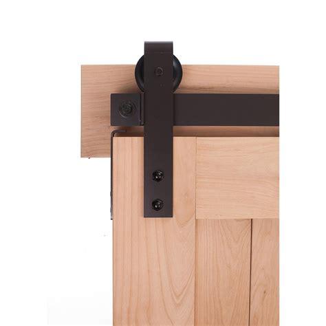 Decorative Barn Door Hardware Everbilt Rubbed Bronze Decorative Sliding Door Hardware 14445 The Home Depot