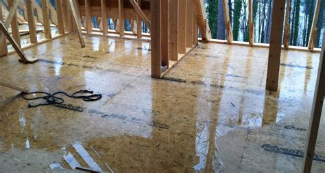 epoxy over plywood subfloor tech tip how to solve the subfloor puddle problem protradecraft