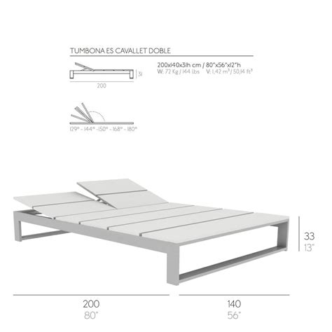 Chaise Dimensions outdoor chaise lounge es cavallet gandia blasco stardust