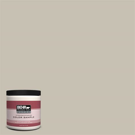 behr premium plus ultra 8 oz 790b 6 hearth interior exterior paint sle 790b 6u the