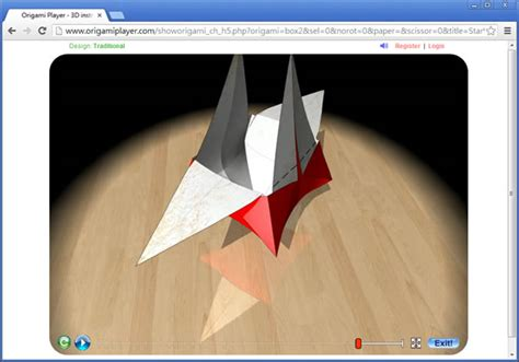 Origami Player - origami player 摺紙 3d動畫教學 chrome 瀏覽器擴充功能