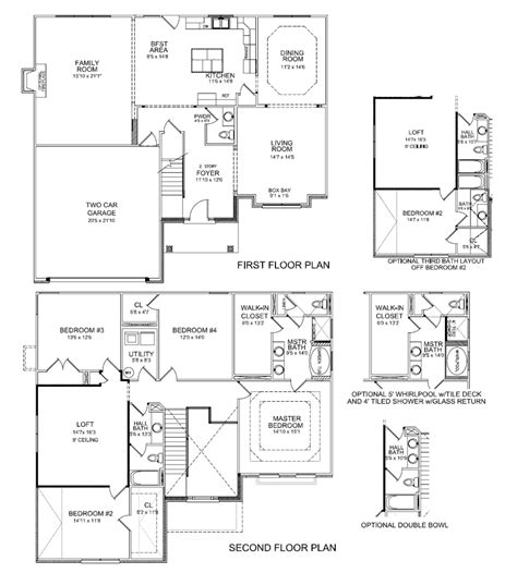 arlington house floor plan arlington ii expanded