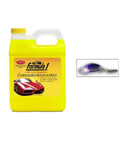 Carnauba Wash And Wax 473 Ml Formula 1 uneestore formula 1 carnauba wash wax car shoo 946