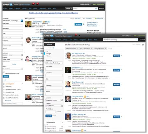 Search Linkedin Linkedin Updates The Advanced Search Page