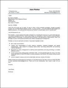 Example Cover Letter Resume marketing resume cover letter samples