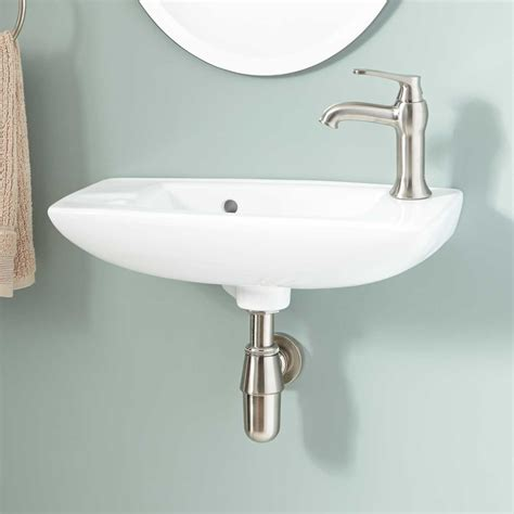 wall mount sink belvidere porcelain wall mount bathroom sink bathroom