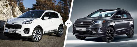 Kia Or Ford Kia Sportage Vs Ford Kuga Suv Comparison Carwow