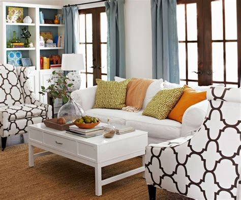 Better Homes And Gardens Living Room Ideas Make Your Living Room Look Like Better Homes Gardens Photo With New Patterned Accent Chairs