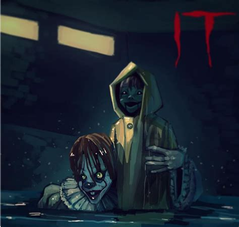 fan 2017 con it 2017 pennywise and georgie by blatinic on deviantart