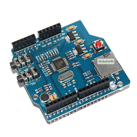 Arduino Vs1053 Mp3 Recording Module Onboard Recording Function arduino shields modules arduino mp3 shield vs1053 audio shield