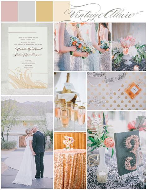 pink silver amp gold wedding ideastruly engaging wedding blog