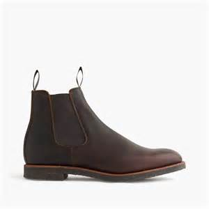 Bench Underwear For Men J Crew Alfred Sargent Leather Chelsea Boot In Brown For