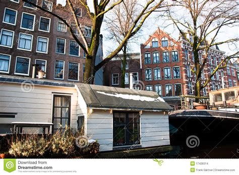 amsterdam boat houses amsterdam house boat stock images image 17428314